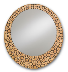 The clever Elkmont mirror with the ends of its wood stems showing