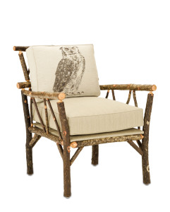 The Elkmont Chair, a comfortable creation in wood