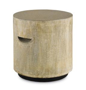 The Eltham Stool looks like rock but it's concrete