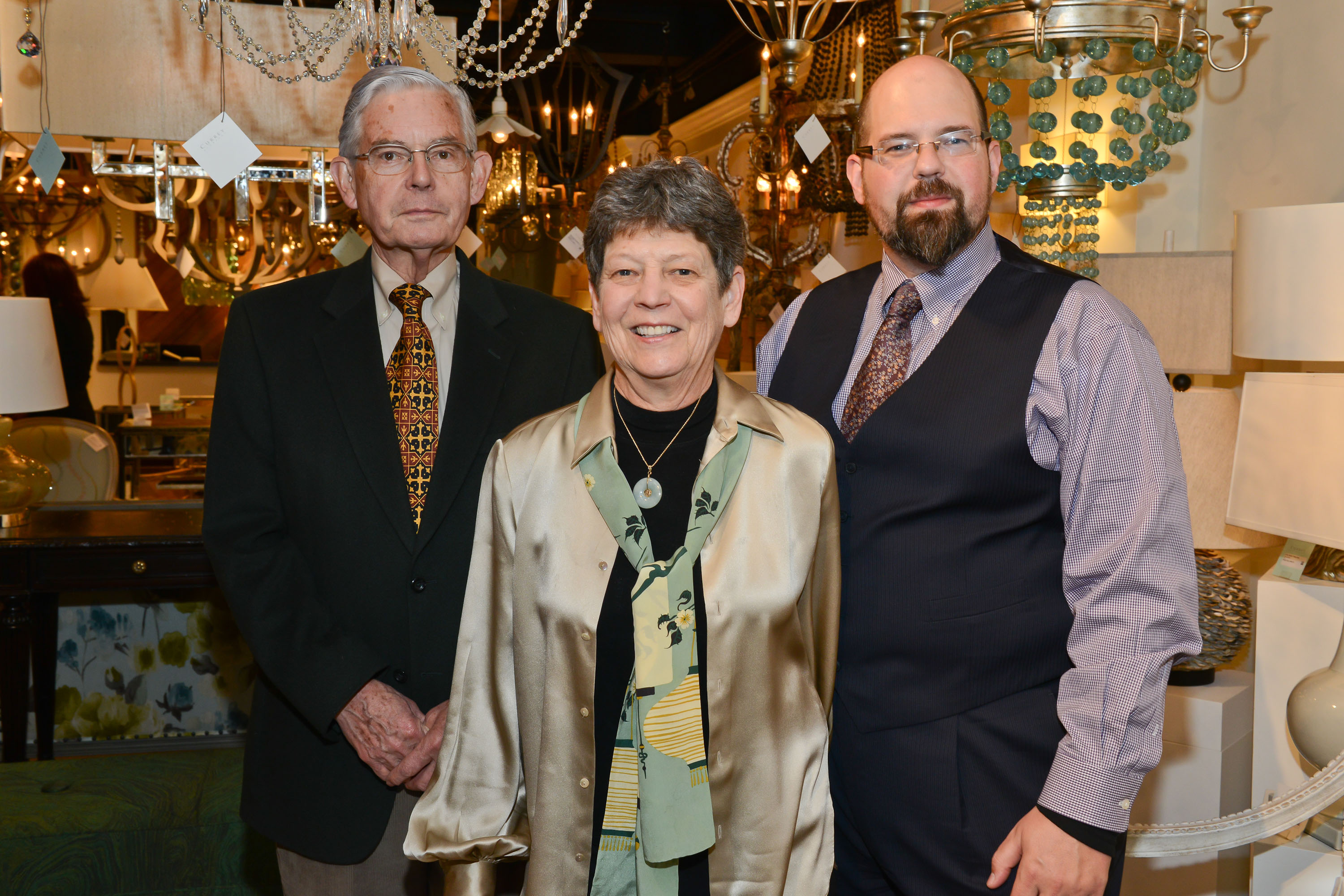 Robert, Suzy and Brownlee Currey at the NYDC