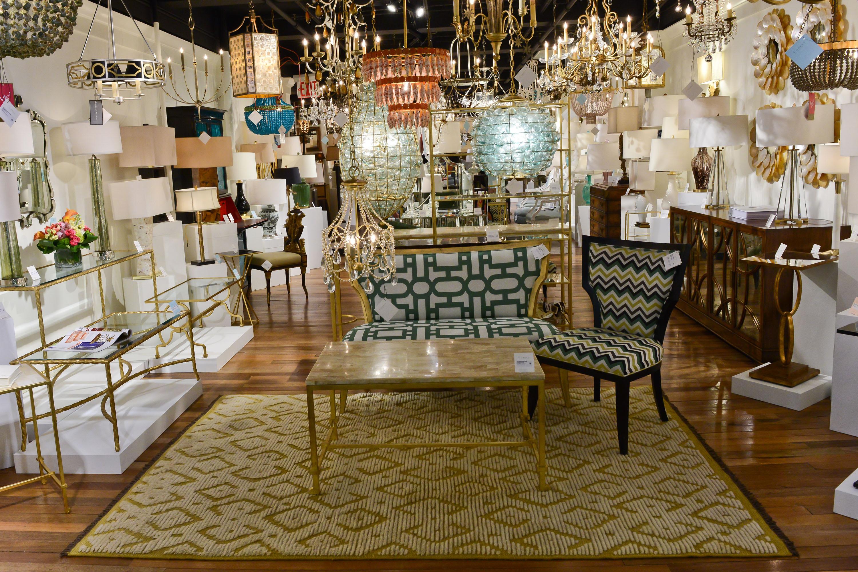 The NYDC Currey & Company showroom