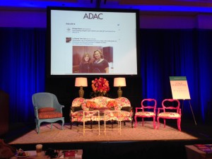 Design Bloggers Conference stage with Currey & Company furniture