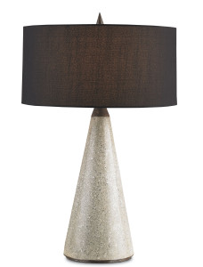 The Harvick table lamp will light a mid-century milieu with vintage flair