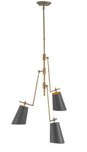 Currey & Company Jean-Louis chandelier