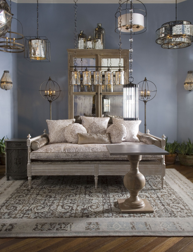 a vignette from the High Point showroom