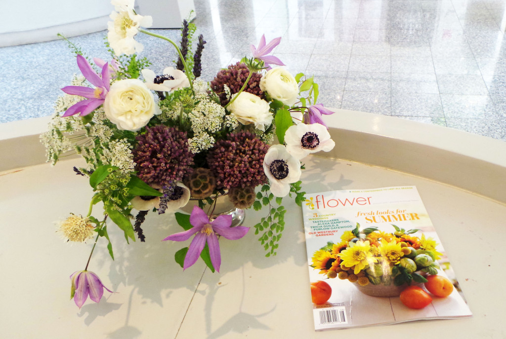 ADAC in bloom with Flower magazine