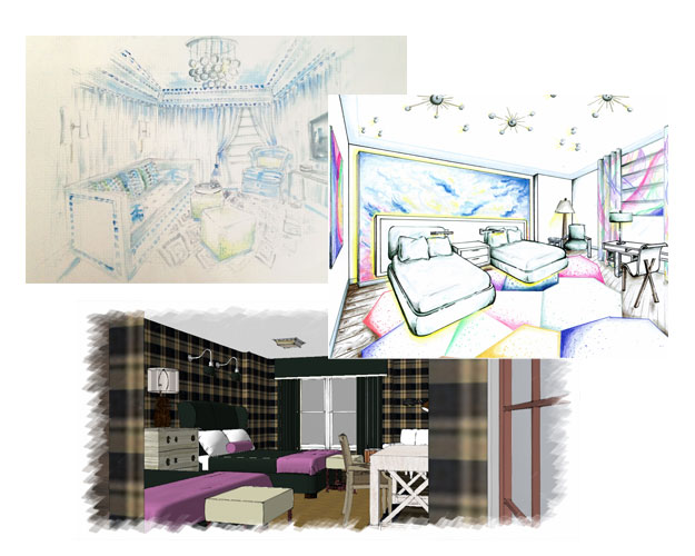 Designer Renderings for the Ronald McDonald House of Long Island