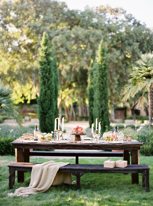 End of Summer Entertaining includes outdoor dinners