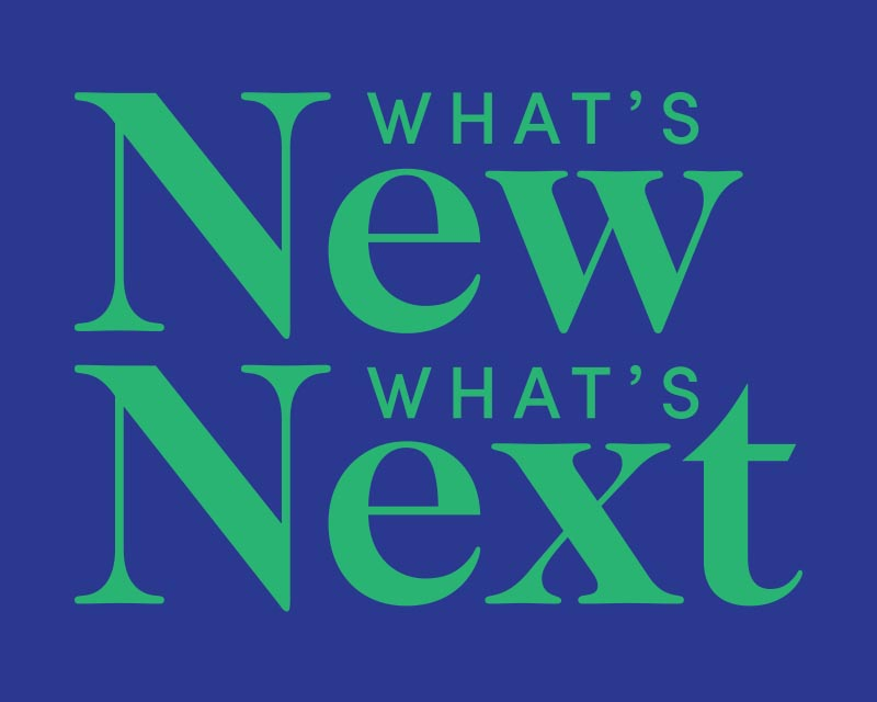 What's New What's Next in New York