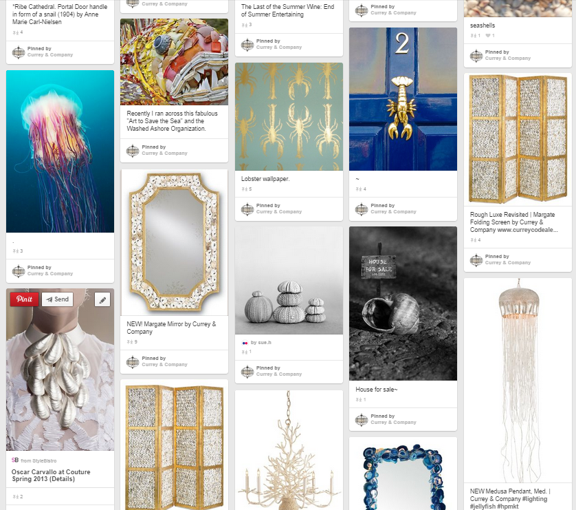 Currey & Co on Pinterest