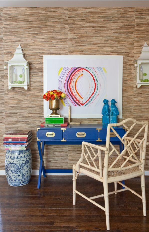 Vibrant colors underpin Palm Beach chic