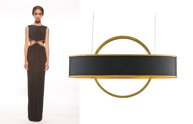 Black and Gold are very on trend