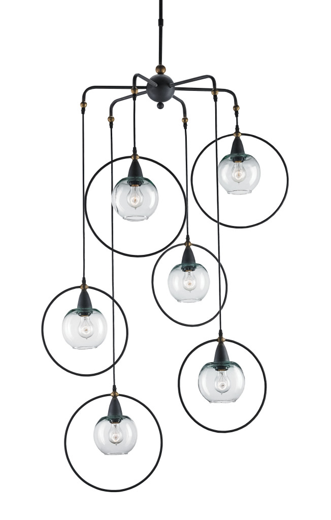 The Moorgate Multi Pendant by Currey and Company