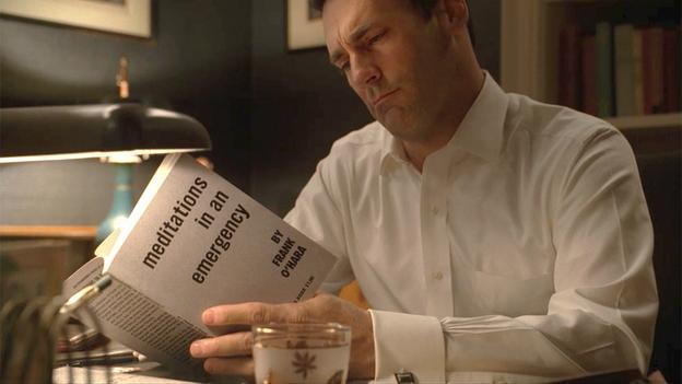 Don Draper Reads Frank O'Hara