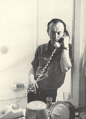 New York School poet Frank O'Hara