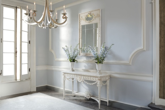 Currey & Company's Devereux Collection ornamented with shells