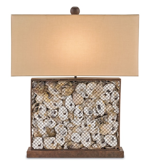 Currey and Company's Oyster Bay table lamp