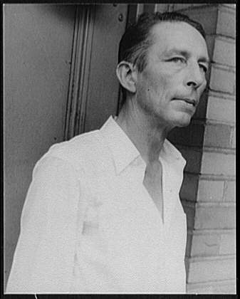 The poet Robinson Jeffers