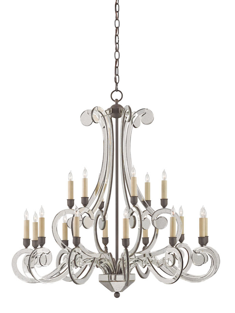 Currey and Company's Belgravia Chandelier makes a special style statement