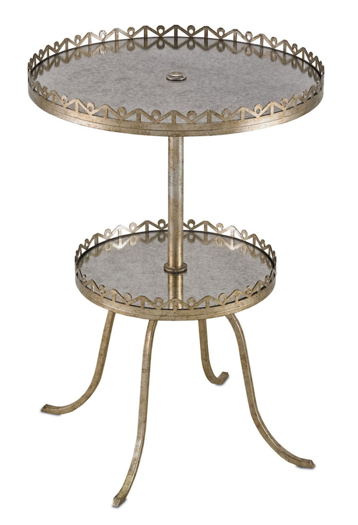 Currey and Company's Bellevue Side Table