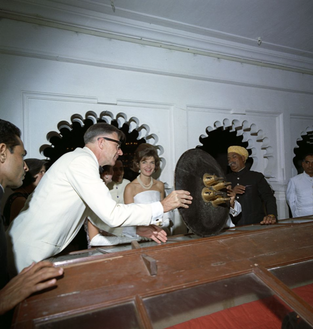 Jackie Kennedy at Fateh Prakash Palace as First Lady