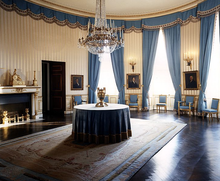 The White House Blue Room