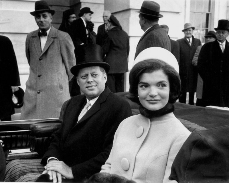 Jackie Kennedy's Pillbox Hat Inauguration Day