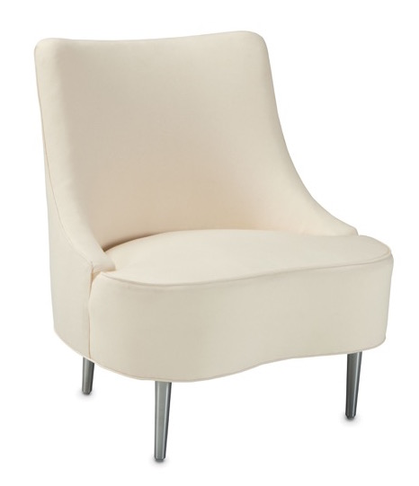 The Tear Drop chair is being introduced by Currey and Company