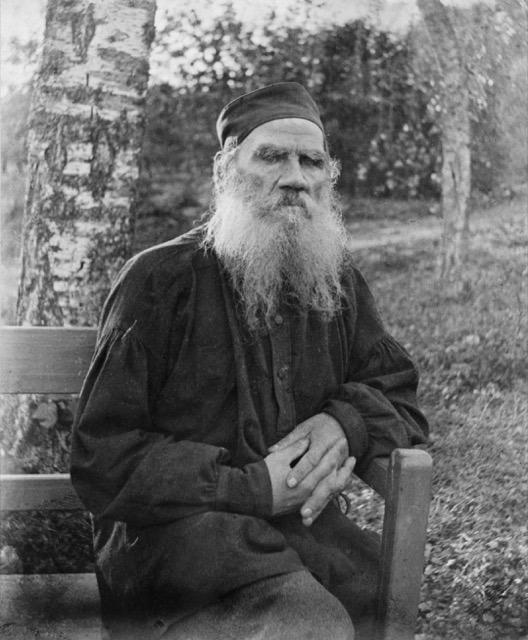 Leo Tolstoy wrote What is Art? the year this image was taken