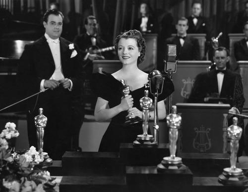Janet Gaynor won an Oscar