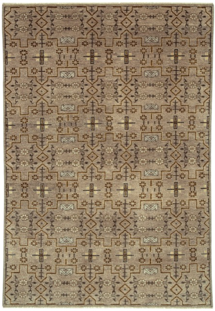 Currey and Company's Sava rug in Stone