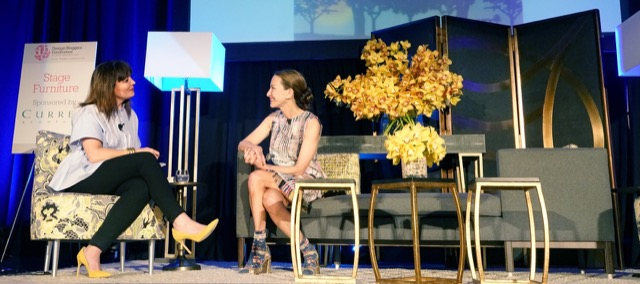 Cynthia Rowley on DBC16 Stage