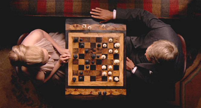 Setting a mood with chess