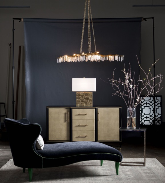 Setting a mood with new debuts company blog company blog currey and company setting a mood with design aviva stanoffs forest light chandelier mozeypictures Image collections