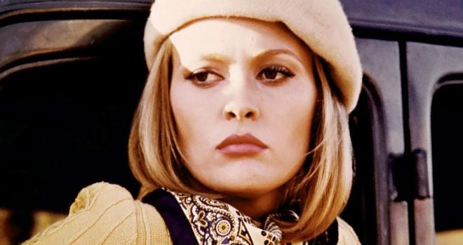 Faye Dunaway looking moody