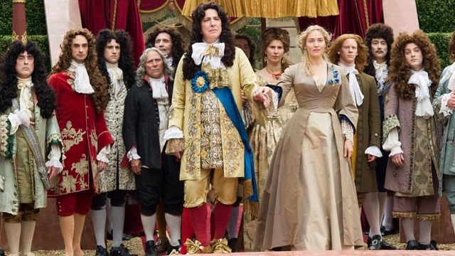 "Alan Rickman and Kate Winslet in ""A Little Chaos."""