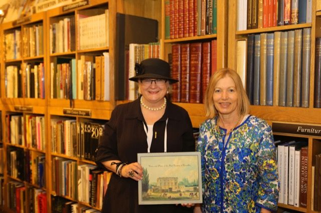 Saxon Henry with Clare Jameson and books