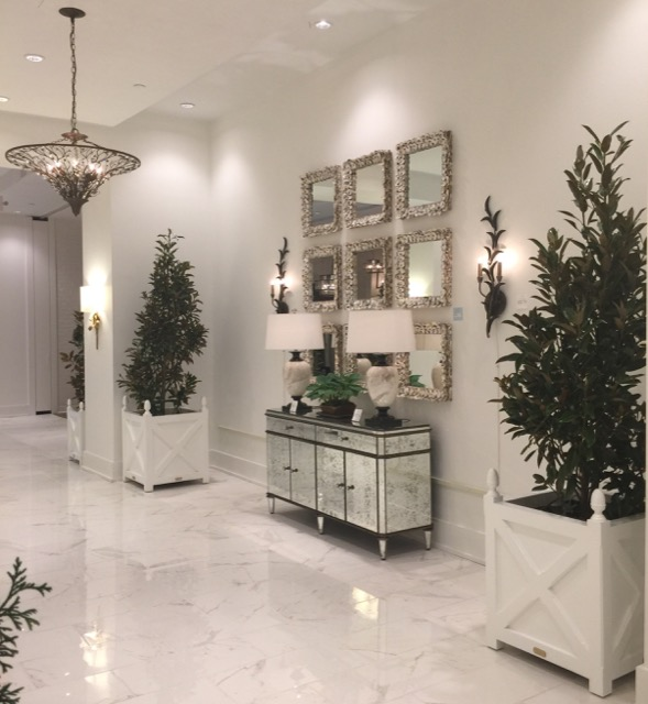 expanded Currey and Company showroom High Point