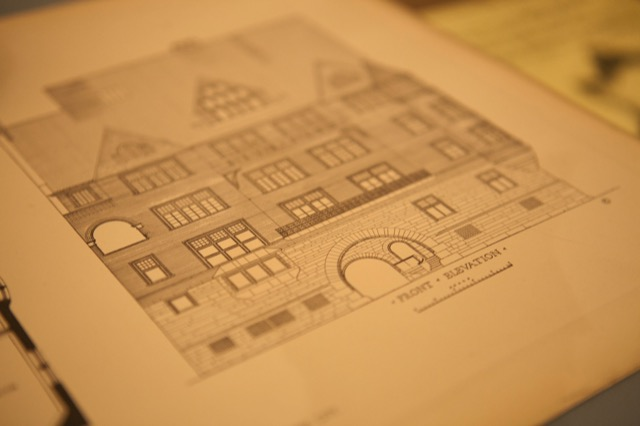 Front elevation drawing Potterton books