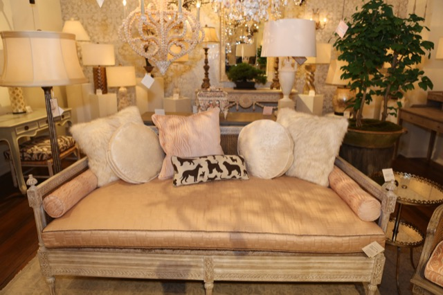 heaven rules in this vignette in Currey and Company in High Point