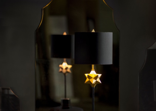 Currey and Company daystar table lamp