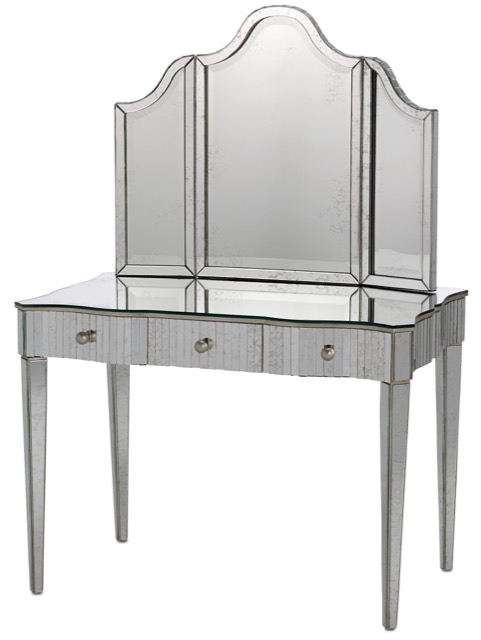 Gilda vanity and vanity mirror