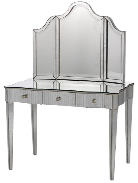 Gilda vanity and vanity mirror