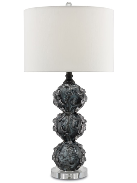 Octave table lamp, a Currey and Company furnishing