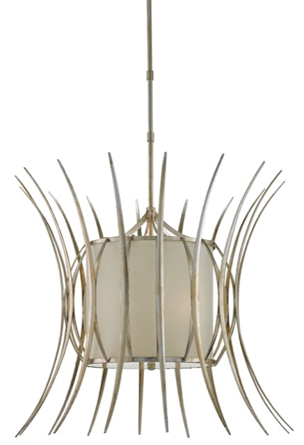 Solene chandelier by Currey and Company