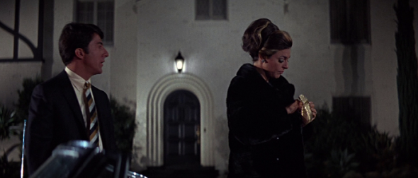 Dustin Hoffman and Anne Bancroft