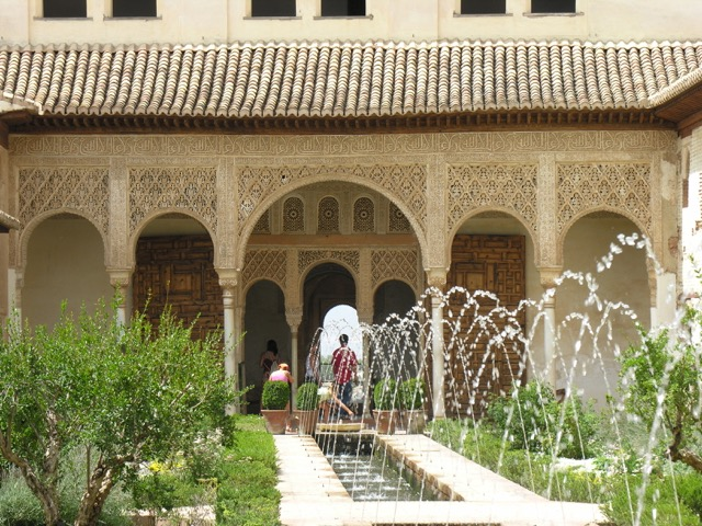 Generalife Palace in Alhambra, Spain
