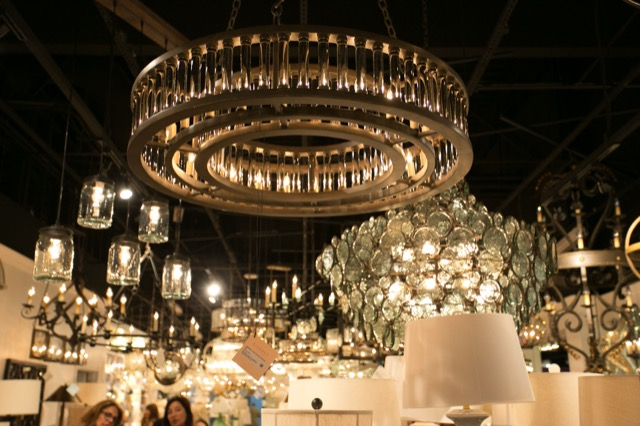 Sultry style in the Currey and Company Vegas showroom