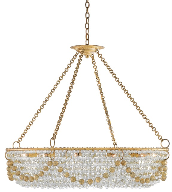 Currey and Company's Aubade Chandelier