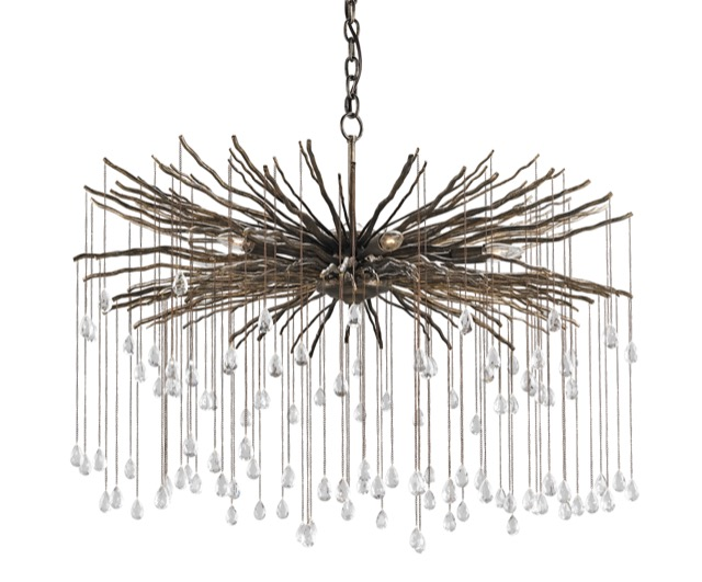 Outstanding design in the Fen chandelier